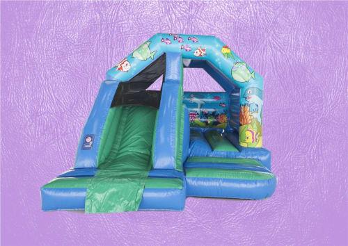 Ocean A-Frame Front Slide Bouncy Castle 15 x 12 1505